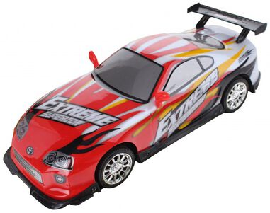 EDDY TOYS raceauto Extreme rood 25,5 cm