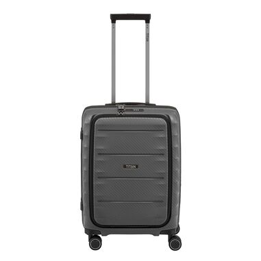 Titan Highlight 4 Wiel Trolley S Front Pocket anthracite