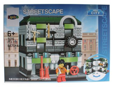 Luna Mini City Streetscape Motor Repair Shop bouwset 325-delig (657014)