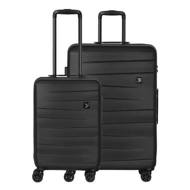 Travelbags Stockholm 2 Delige Trolley Set black