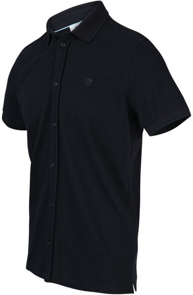 Blue Industry Heren polo pique weving regular fit