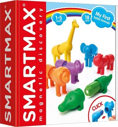SmartMax My First Safari animals - 18 pcs