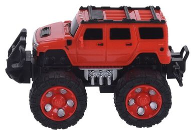 Free and Easy monstertruck 15 cm rood