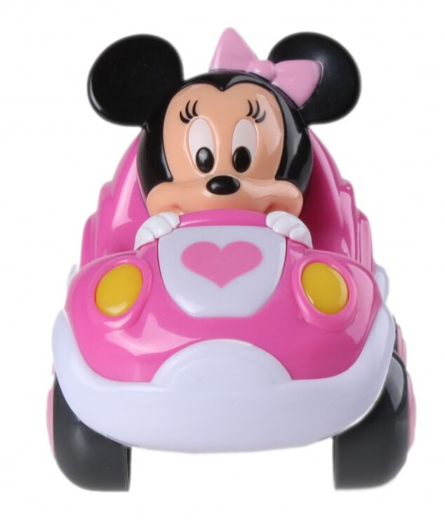 Clementoni Disney Baby Minnie Mouse pull-back auto roze