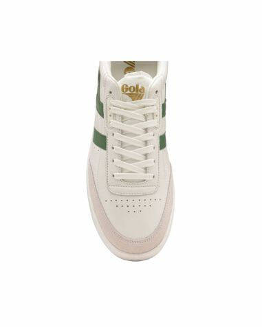 Gola Inca leather white/green cma686 wit