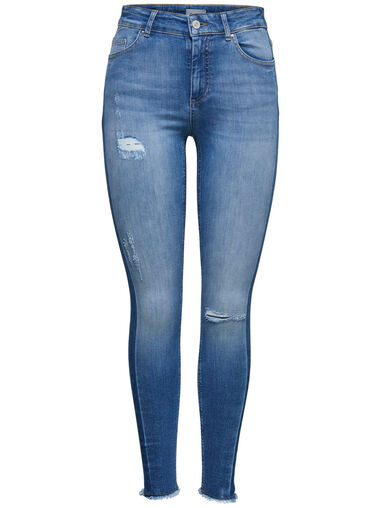 Only Skinny jeans Blush mid ankle panel