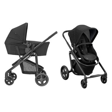 Maxi-Cosi Kinderwagen Lila SP 2 in 1 Essential Black