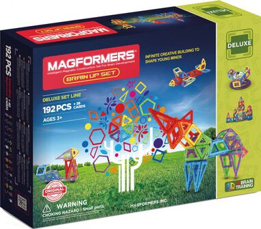 Magformers Brain Up set 192-delig