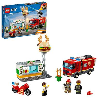 LEGO 60214 City Brandweer Burger-Bar