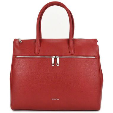 Gigi Fratelli Dames Leren Laptoptas 17 inch Romance Business ROM8007 Rood