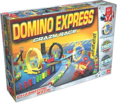 Goliath Domino Express Crazy Race
