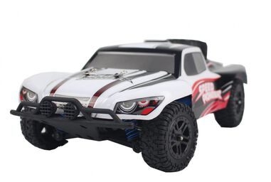 ThomaxX RC buggy 1:18. X-Desert Speed Pioneer 23 cm wit