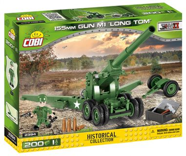Cobi bouwset Historical collection Gun M1 Long Tom 201-delig