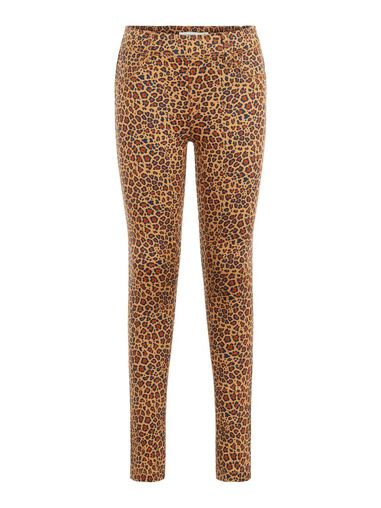 Name it Legging twill geweven panterprint