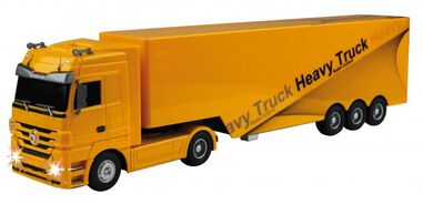 Cartronic RC Truck Mercedes Benz Actros 48,6 cm geel