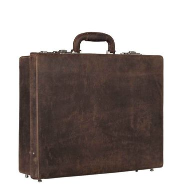 Leonhard Heyden Salisbury Attache Cache brown
