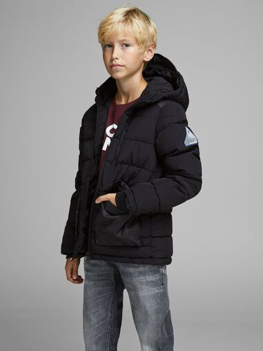 Jack & Jones Gewatteerde jas Jongens hooded