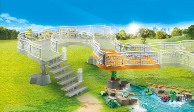 Playmobil 70348 Zoo Viewing Platform Extension