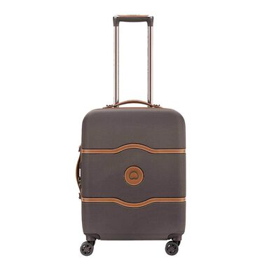 Delsey Chatelet Air 4 Wheel Slim Trolley 55 chocolate