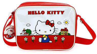 schoudertas Hello Kitty 3,4 liter rood