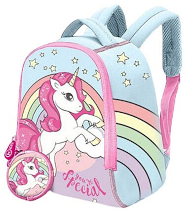 Kids Licensing kinderrugzak Unicorn junior 6 liter neopreen blauw