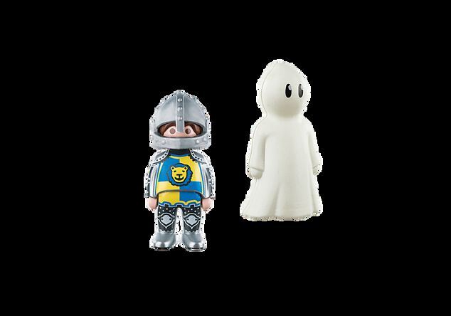Playmobil 1.2.3. 70128 Ridder en spook