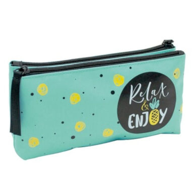 Verhaak etui Breeze junior 23 cm mintblauw
