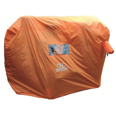 Highlander noodtent Emergency Survival Shelter 2-3 personen - Oranje
