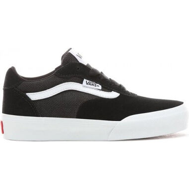 Vans Youth palomar suede canvas black white-schoenmaat 27
