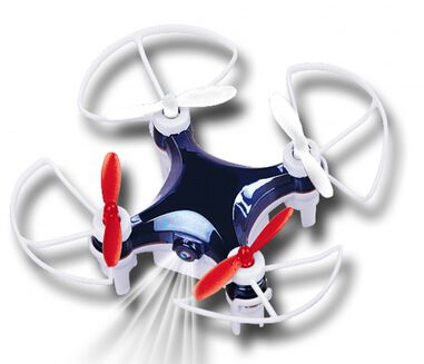 Gear2play Quadcopter Mini Drone VR Wifi 7 x 7 cm wit