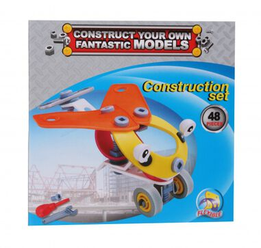Free and Easy constructieset helikopter 48-delig