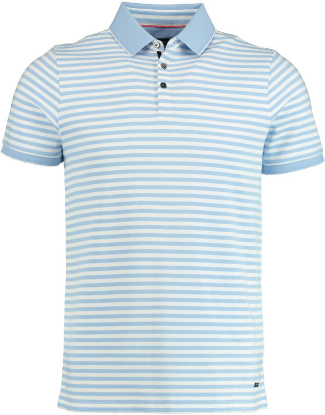Born with Appetite Tobias polo liquid stripes 20108to46/210 l.blue