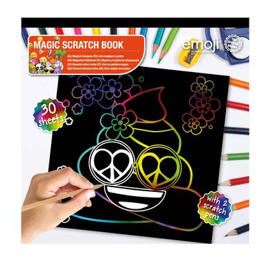 Emoji Scratch Art Book