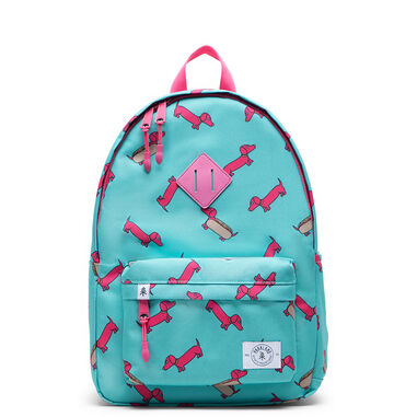 Parkland Bayside Kids Backpack Hot Pink Hot Dog