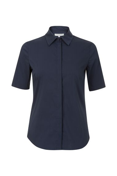 Promiss Dames - Blouse Uni TAI SHORT SLEEVE