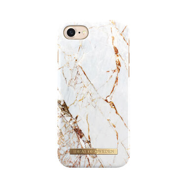iDeal of Sweden Fashion Back Case Carrarra Gold voor iPhone 8  7