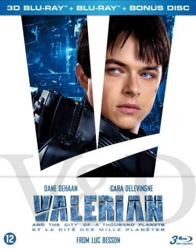 Valerian and the city of a thousand planets (3D)(Steelbook)