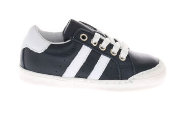 Pinocchio P1192 sneakers donker wit
