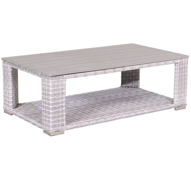 Tennessee lounge tafel 140x80 cloudy Grijs
