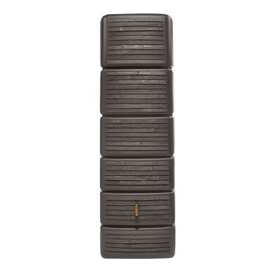 SLIM wandtank 300 l. wood decor dark