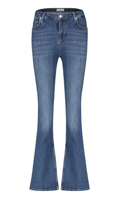 BF Jeans- dames Flared Jeans- stretch- blue denim