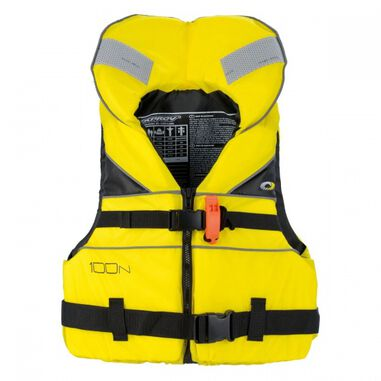 lifevest geel junior maat