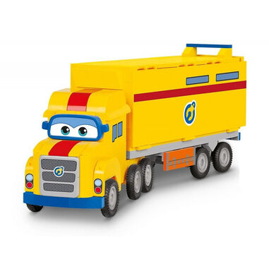 Auldey Super Wings Series 1 Vroom n' Zoom - Poppa Wheels geel