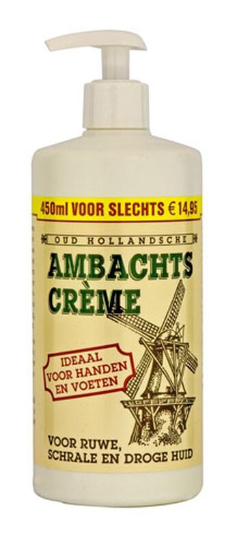 Ambachtscrème 450ml met dispenser