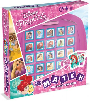 Disney Princess kubusspel Top Trumps Match