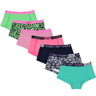 Vingino - Girls - 7-Pack Hipster All Week Love
