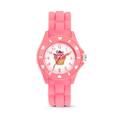 Colori Kinderhorloge Sports Time roze 30 mm 5-CLK056