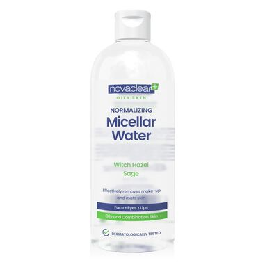 Novaclear Normalizing Micellar Water For Oily Skin 400ml.