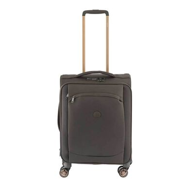 Delsey Montmartre Air Slim 4 Wheels Expandable Cabin Trolley 55 iguana