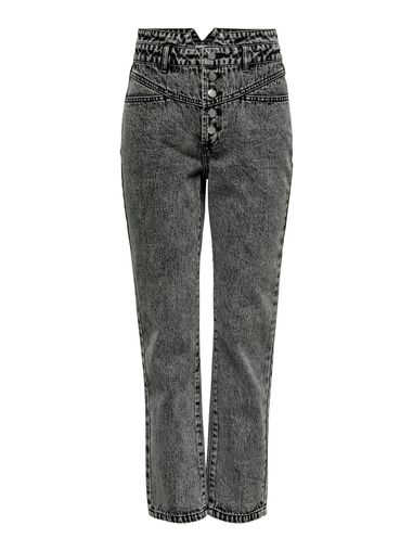 Only Straight fit jeans ONLTurner hw 80ties ankle